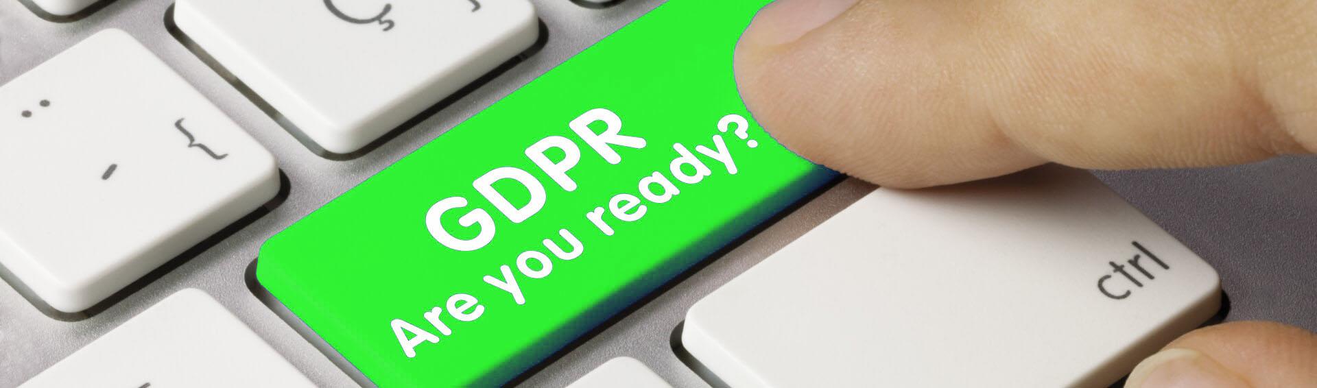Jste pripraveni na GDPR