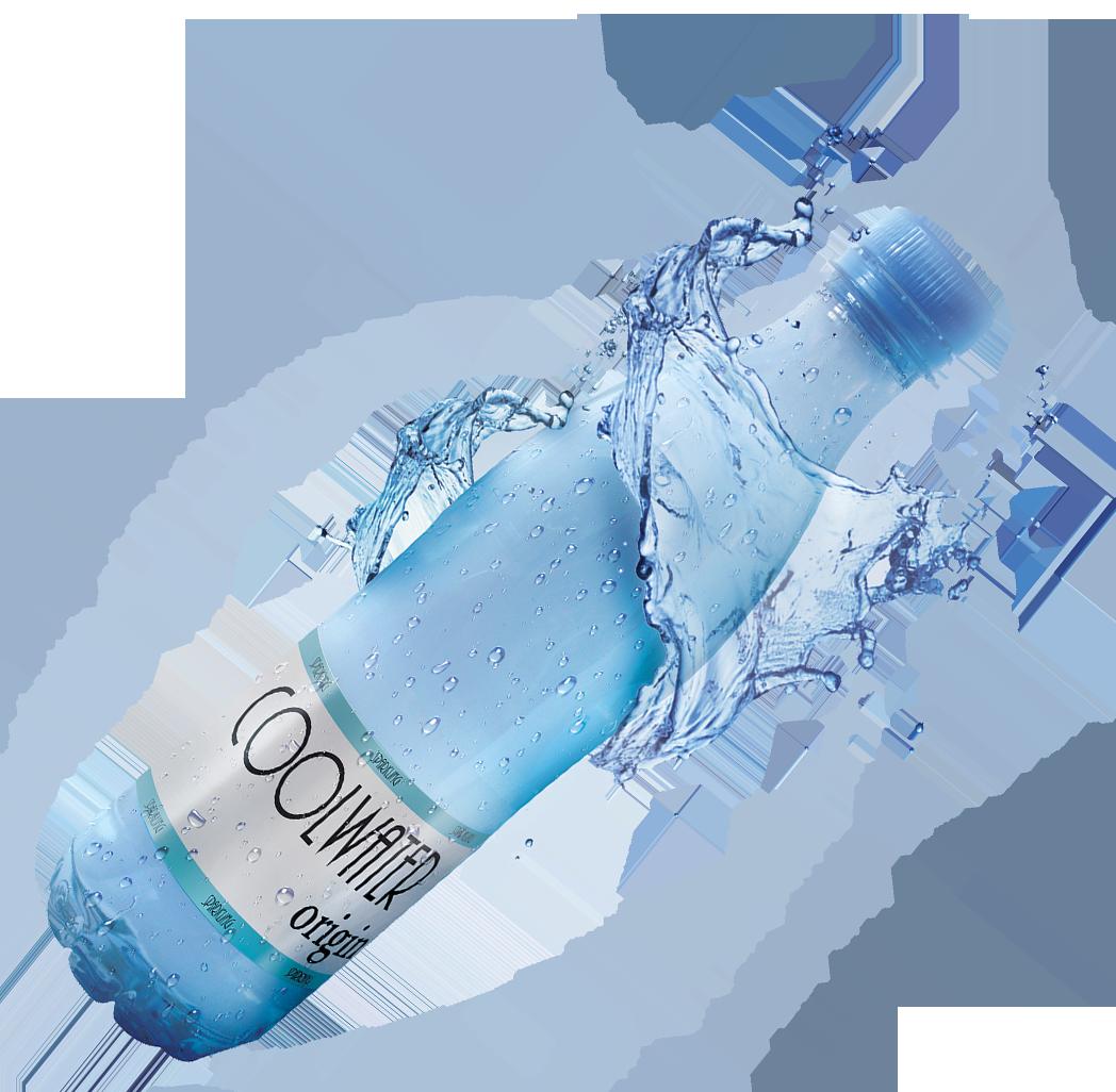 plastova lahev s vodou