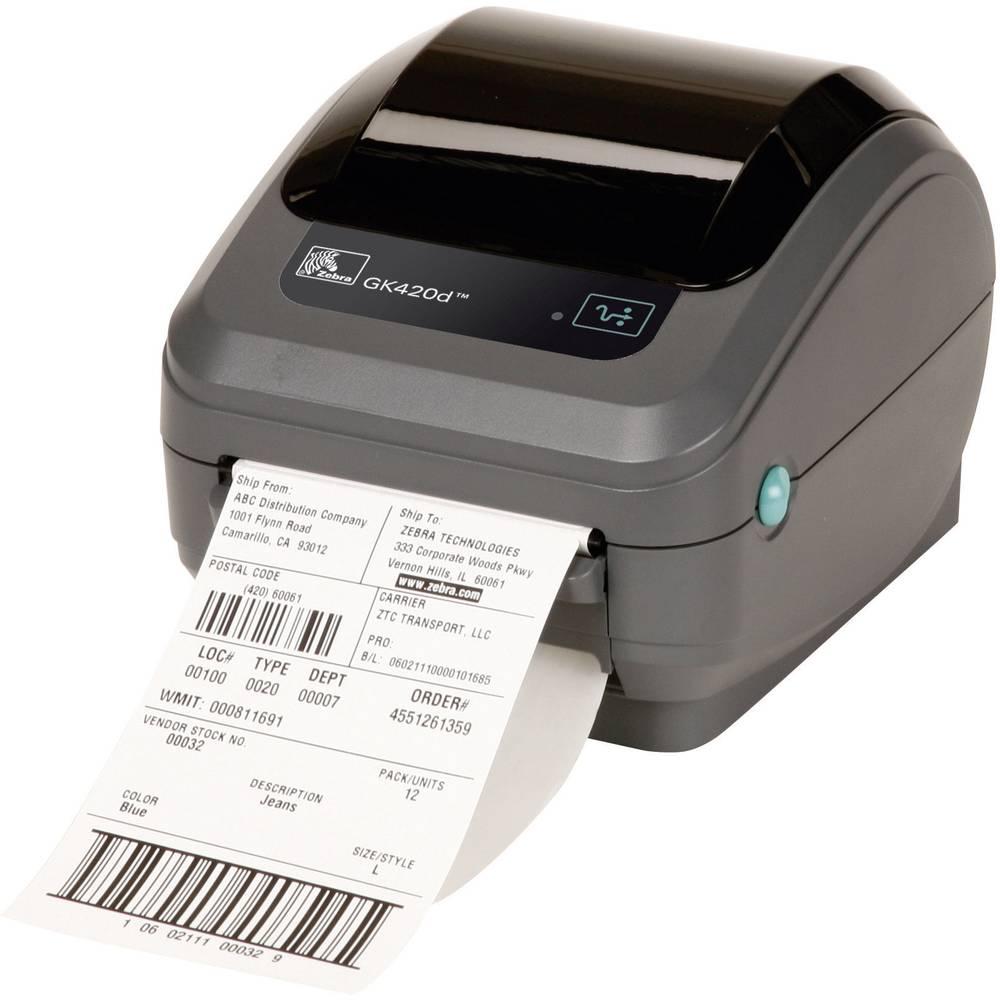 tiskarna carovych kodu zebra gk420d