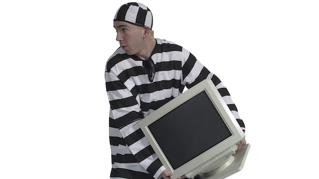 zlodej monitoru